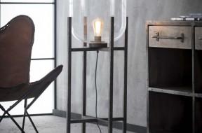 GlazenBol.vloerlamp