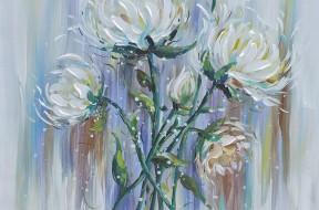 Schilderij.Bloemen